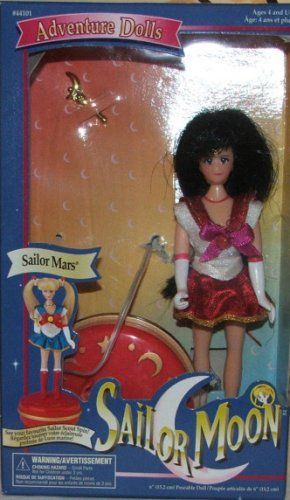 Adventure Doll Sailor Mars with Spinning Base